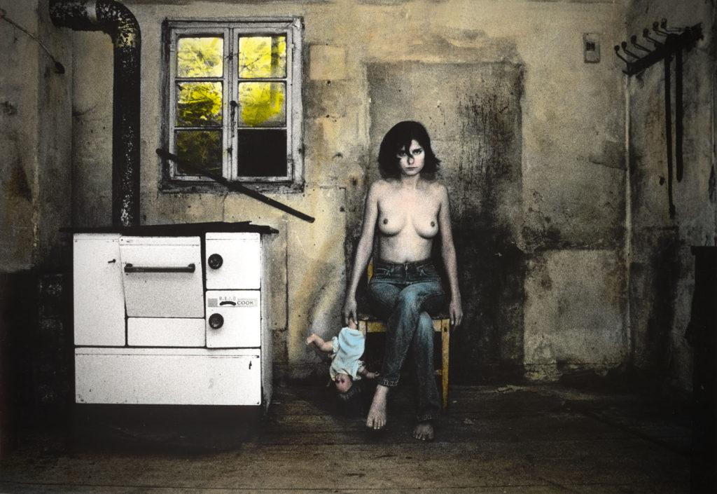 Erleuchtung als Flucht, Trauma, Kindheit, Fotokunst, Thomas Seiter