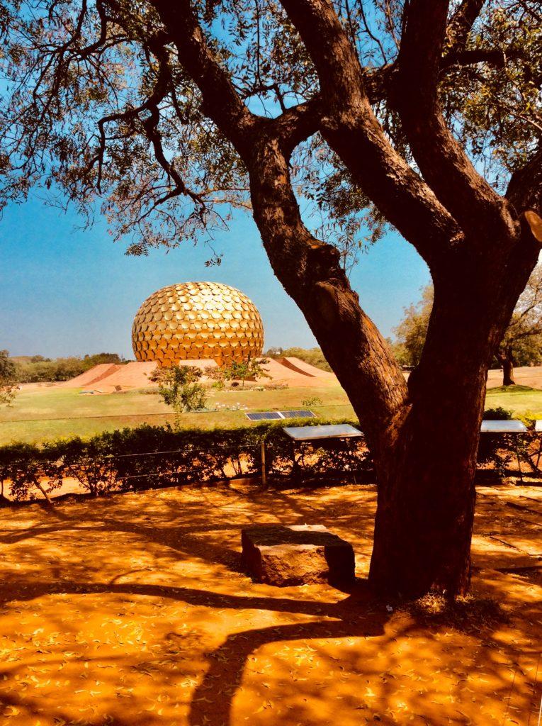 Matri Mandir - das  Hightech Meditationszentrum Aurovilles