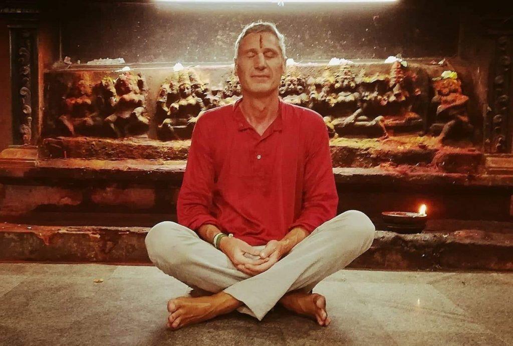 Meditation Tommy Seiter Arunachala Tiruvanamalai Tempel