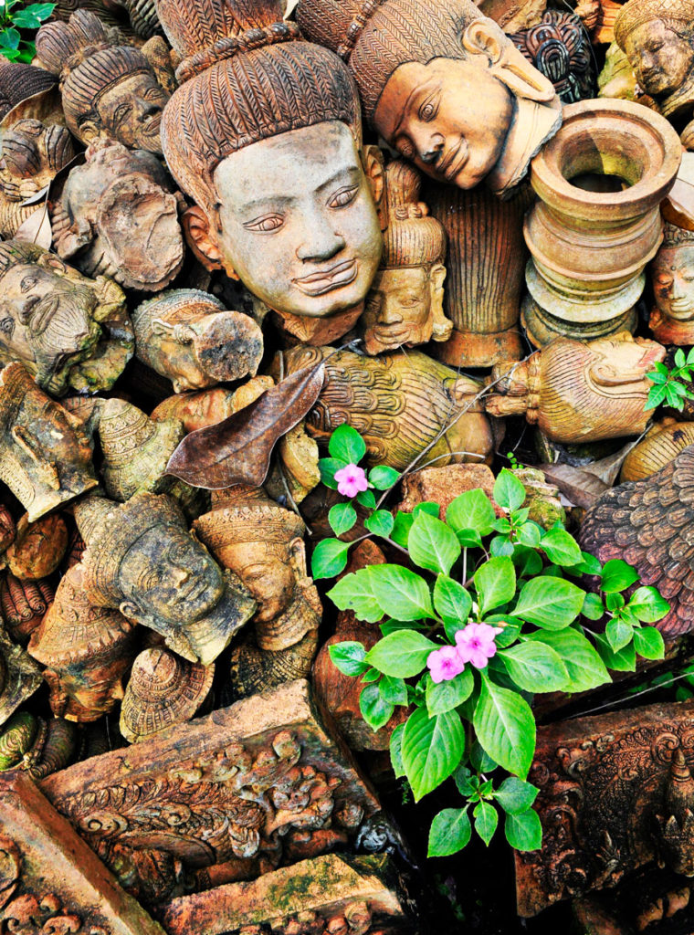Buddha, Blume Seiter